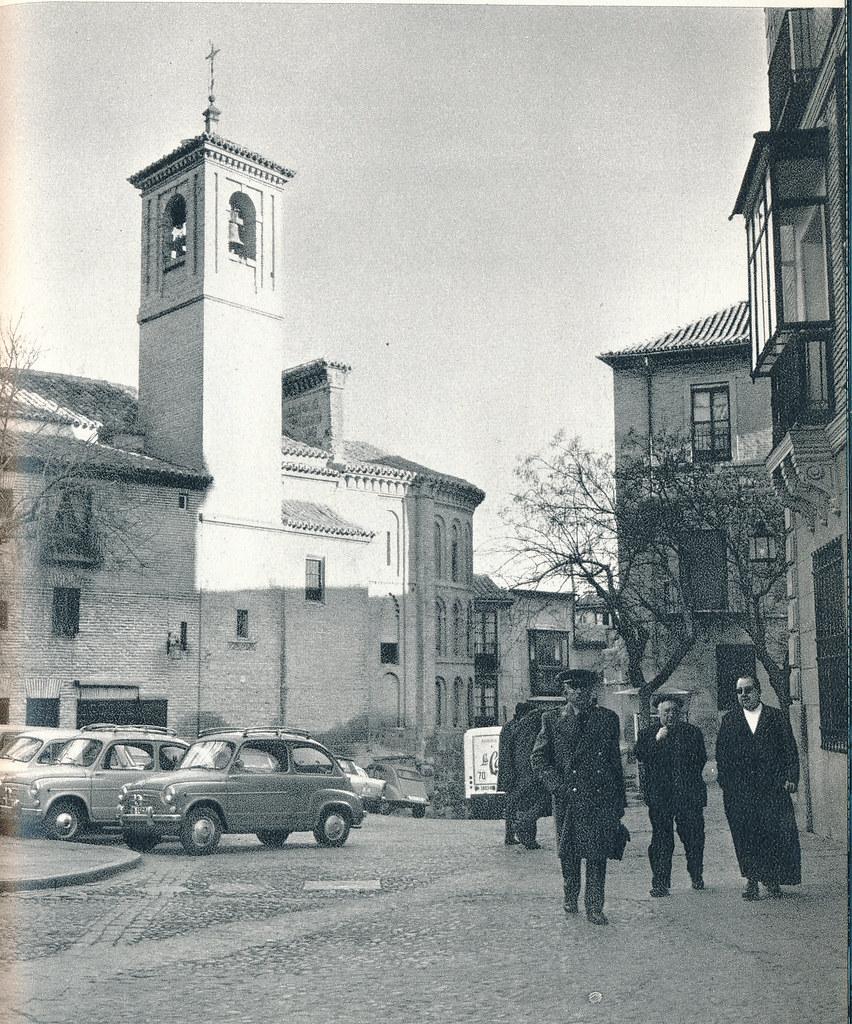 Plaza de San Vicente en Toledo hacia 1967 por Marc Flament