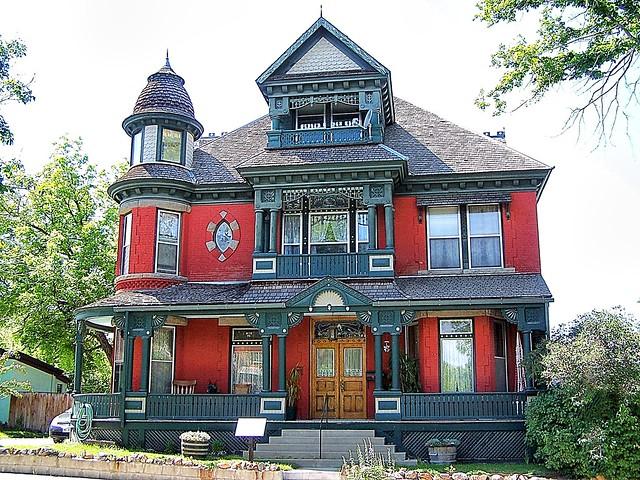 St Helena  Montana  -  Morris Silverman House - 412 N Rodney Street - Historic Governors Mansion