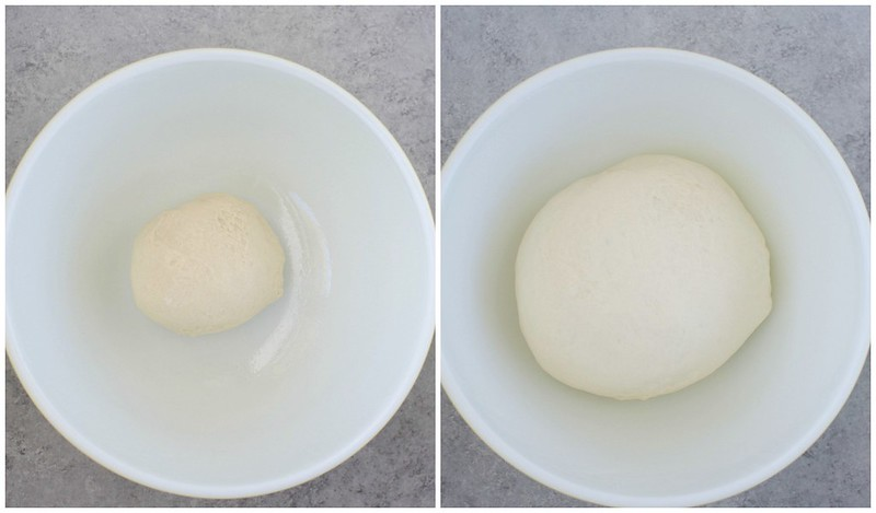 Rapid Rise Yeast before and after