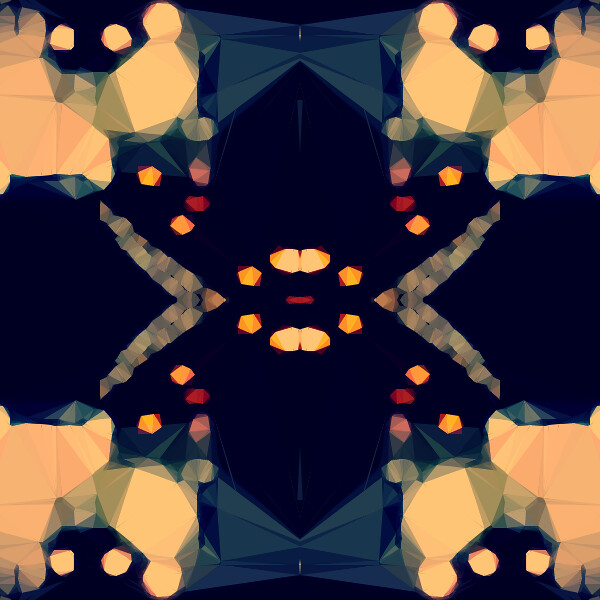 Kaleidoscope PHP 2 in 1 with overlay
