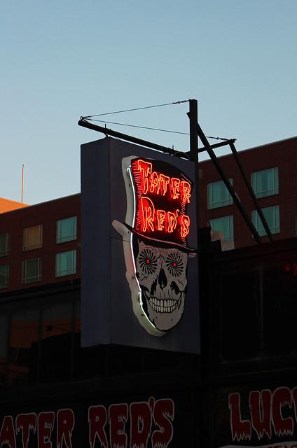 Tater Reds Neon Sign, Memphis