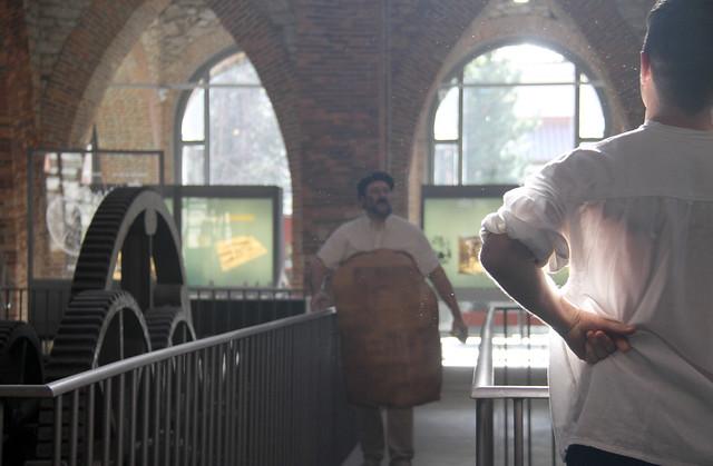 VISITA TEATRALIZADA AL MUSEO DE LA SIDERURGIA Y LA MINERÍA DE CASTILLA Y LEÓN EN SABERO - PABLO PARRA Y MANUEL FERRERO 29.12.19