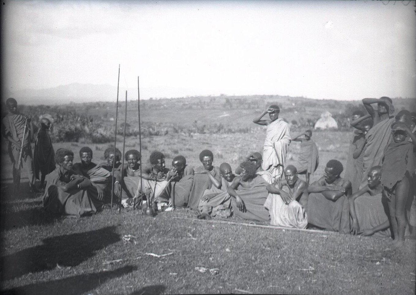 510. Жители провинции Уоламо на базаре. Омето
