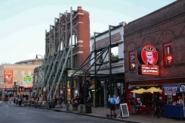 The Beale Street Facade