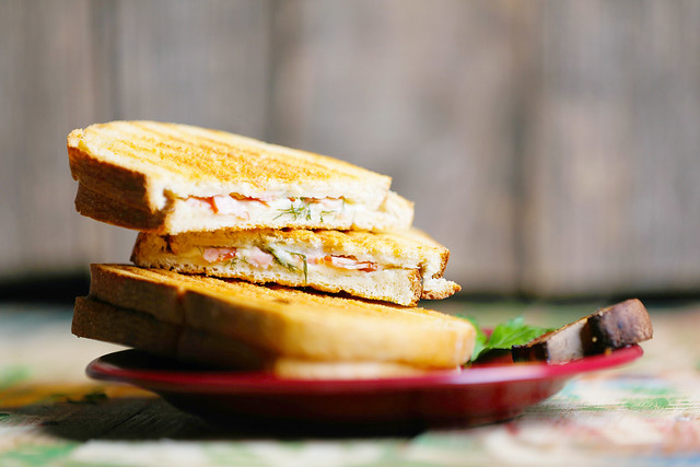Sandwich with toast bread