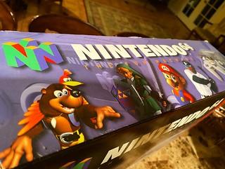 Boxed N64  #nintendo #n64 #nintendo64 #supermario64 #legendofzelda #pokemonsnap #ocarinaoftime #banjokazooie #goldeneye64 #donkeykong64 #supersmashbros #videogames #retrogaming
