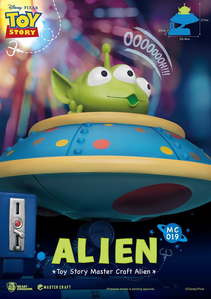 有飛碟! 野獸國 Master Craft 系列《玩具總動員》三眼怪 Alien MC-019