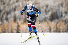 Na bodech i ve druhé etapě Tour de Ski. Ve sprintu volně se dařilo Janatové s Novákovou
