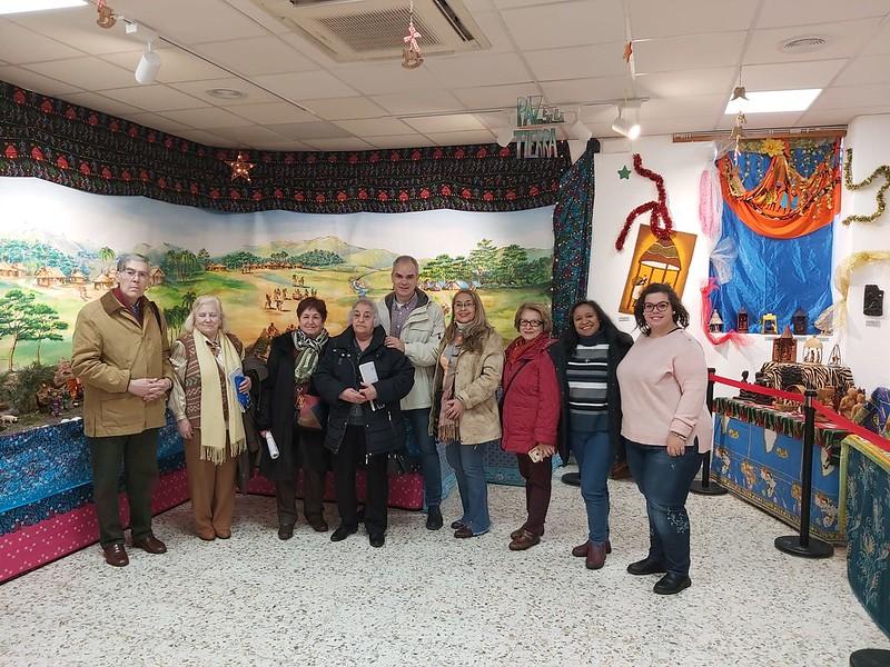 Visita Belenes Pastoral Salud Dic 19