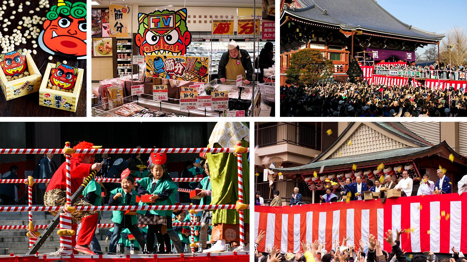 6 sự kiện, lễ hội lớn nhất Nhật Bản - setsubun