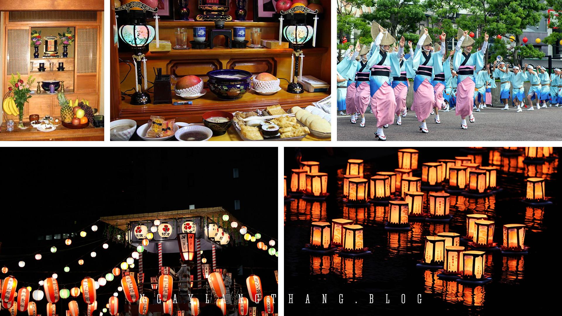 6 sự kiện, lễ hội lớn nhất Nhật Bản - obon