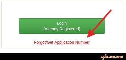 Bihar D.El.Ed 2020 forgot application number