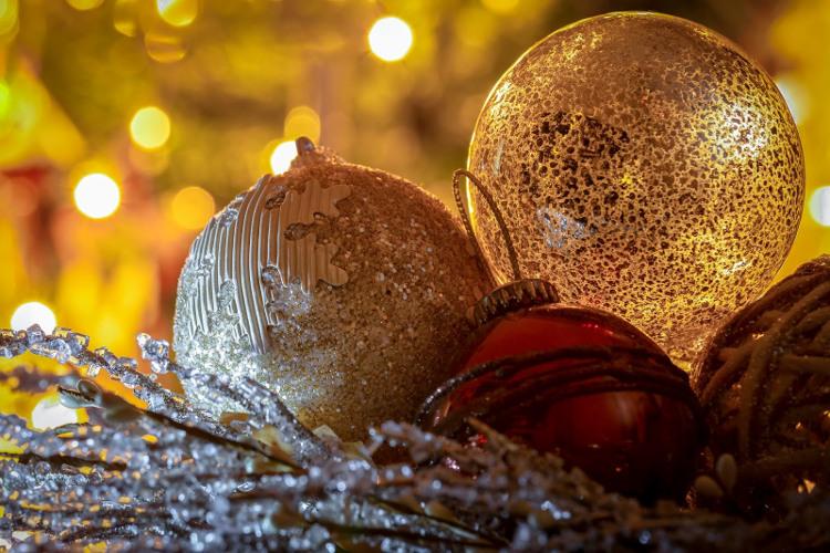 Fotografia em Palavras: Bolas de natal