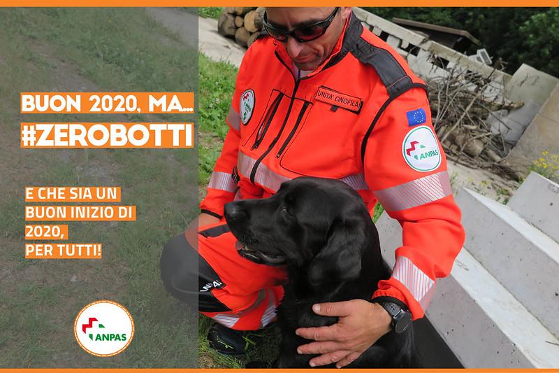 #zerobotti: l'appello dei volontari Anpas