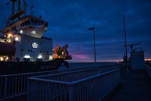 Sunrise in Cuxhaven