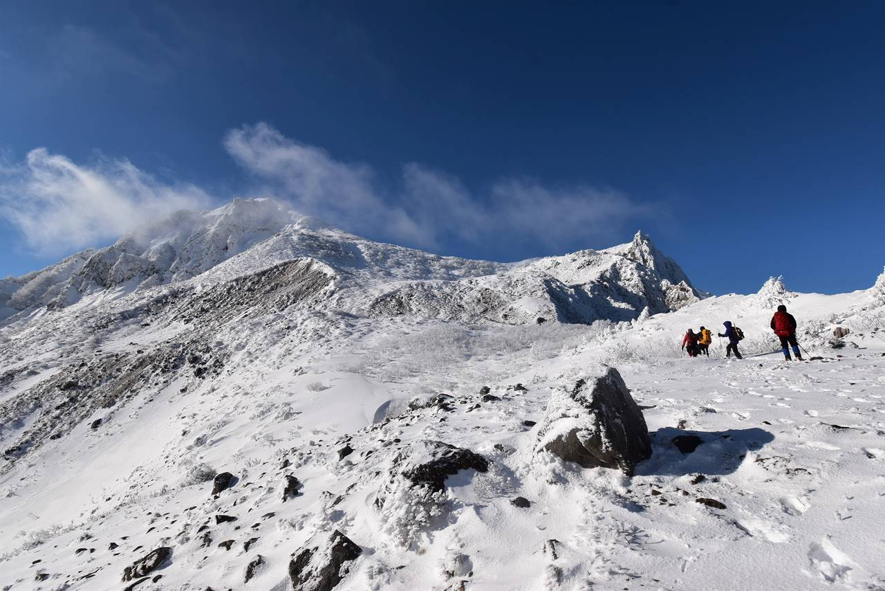 磐梯山 日帰り雪山登山