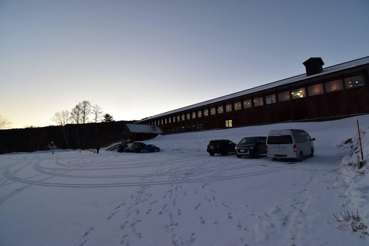 裏磐梯スキー場駐車場