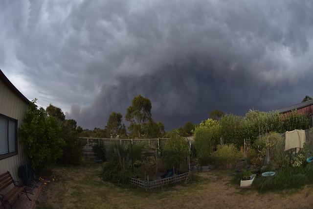 A smokey view taken in Bairnsdale, Victoria.