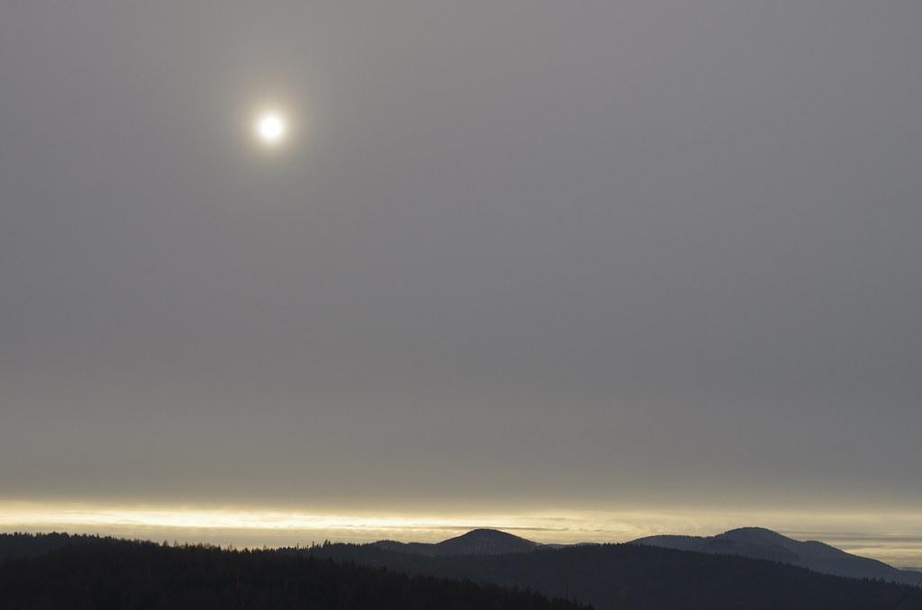 Nisko latające słońce / Low-flying sun