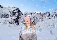 snö, icy breath