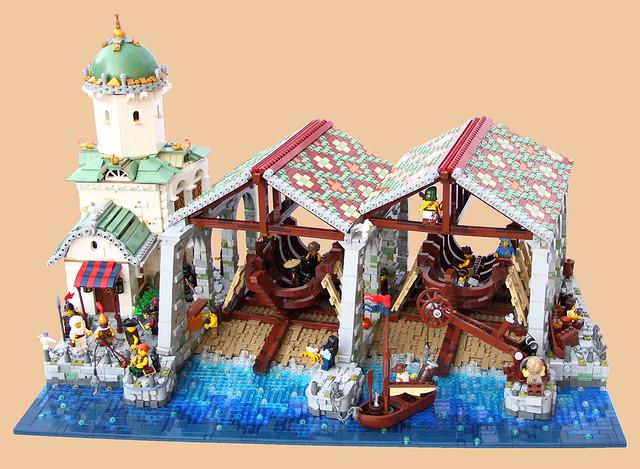 Peregrinus shipyard 1