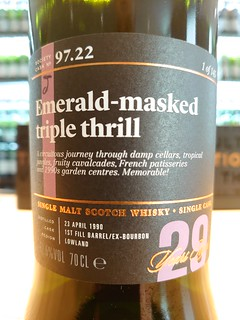 SMWS 97.22 - Emerald-masked triple thrill