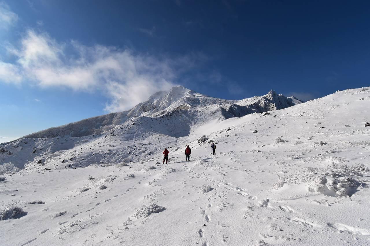 【福島】冬の磐梯山 日帰り雪山登山