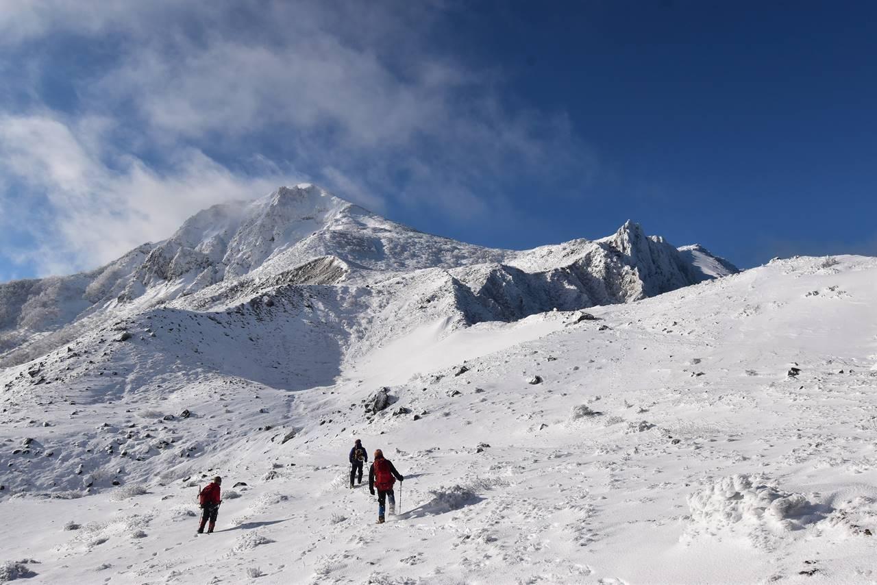 【東北】冬の磐梯山 日帰り雪山登山