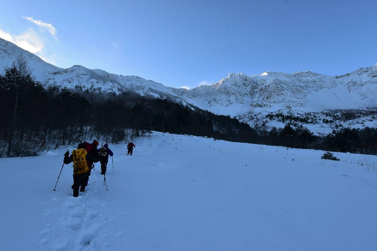 冬の磐梯山 日帰り雪山登山