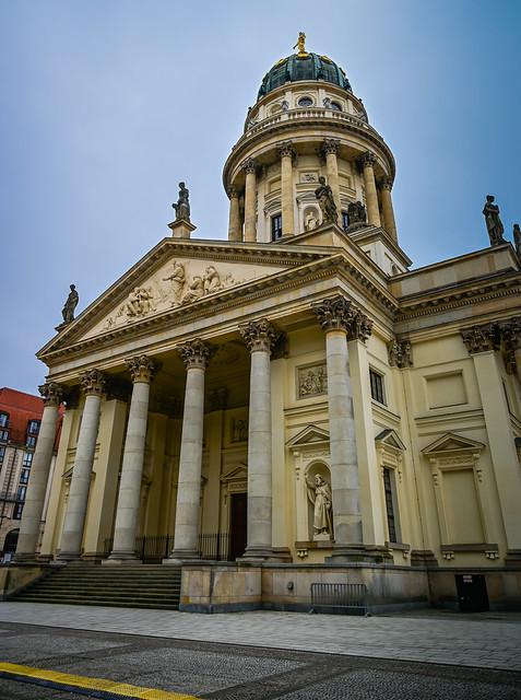 German (Deutscher Dom) Cathedral at Gendarmenmarkt - Berlin Germany