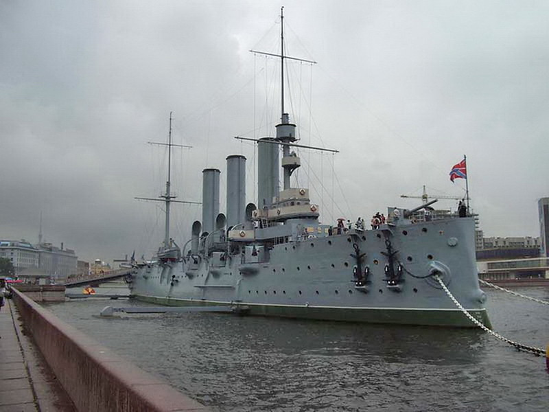 Cruiser Avrora 1
