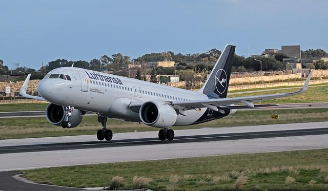 D-AINL LMML 29-12-2019 Lufthansa Airbus A320-271N CN 8383