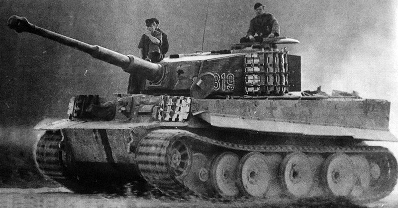 derpanzergraf: A Panzer VI Tiger from the 502 Heavy Tank Battalion
