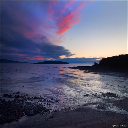 balcarybay sunrise scotland dumfriesandgalloway coast