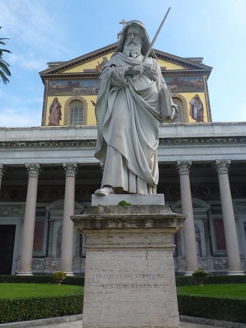 Roma - Basilica papale di San Paolo fuori le mura