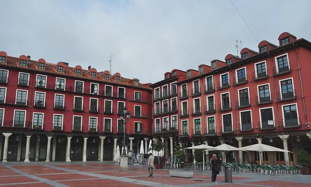 Plaza Mayor (XVIe siècle), Valladolid, Castille, Espagne.