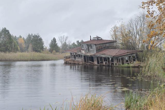 Pripyat River Boat