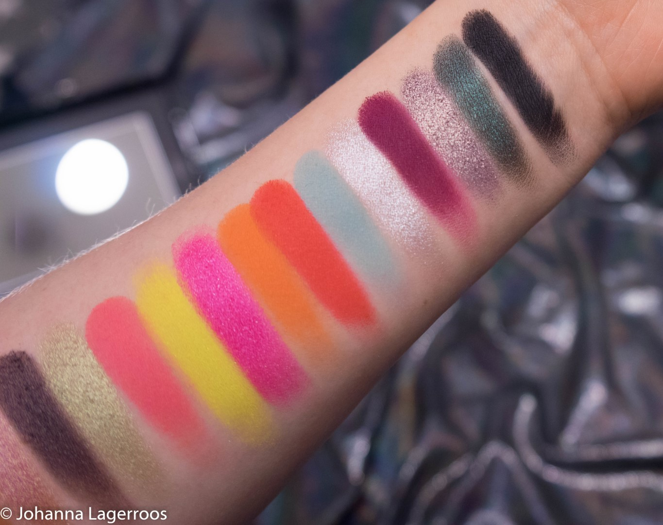 Conspiracy swatches