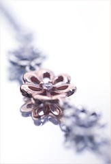 Rose Gold Flower