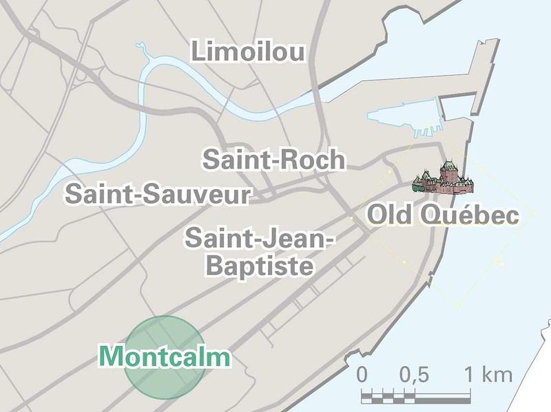 MAP Montcalm