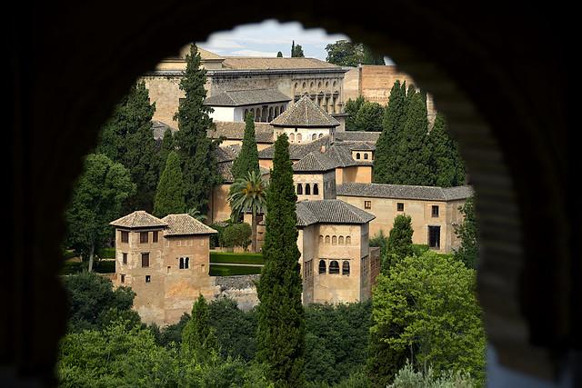 Granada. La Alhambra. Palacios Nazaríes