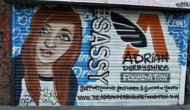 Manchester Street Art = Adrian Derbyshire Foundation