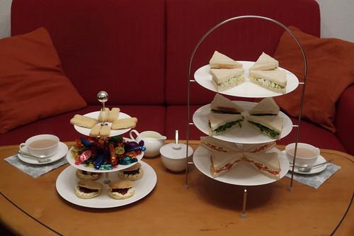 Afternoon Tea am Sonntag nach Weihnachten