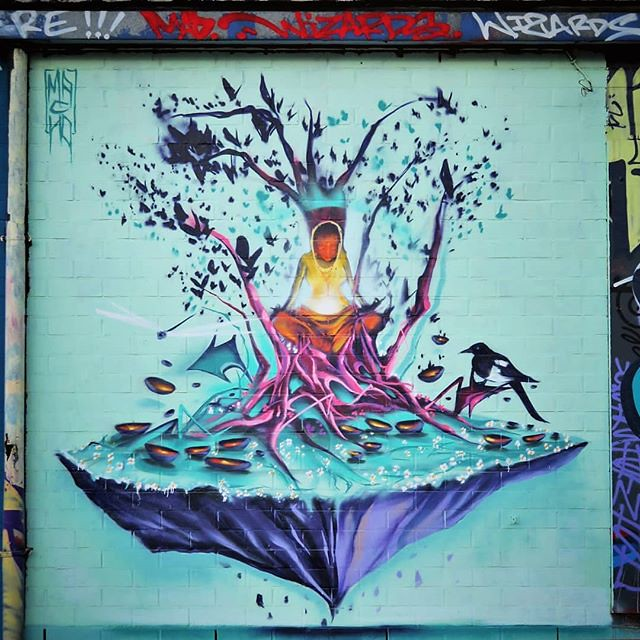 Bring some light in these short days / #streetart by #macho. . #brussels #brussel #urbanart #graffitiart #streetartbelgium #graffitibelgium #bruxhell #bruxellesmabelle #mural #urbanart_daily #graffitiart_daily #streetarteverywhere #streetart_daily #iloves