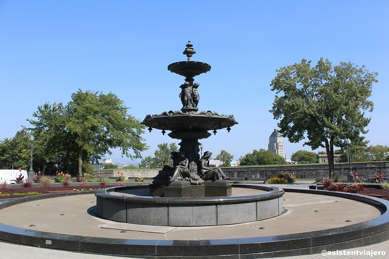 Quebec Fontaine de Tourny