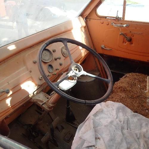 INTERIOR DKW BUTÀ 1956