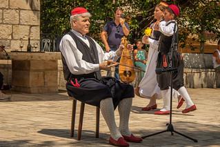 Folklore festival musician