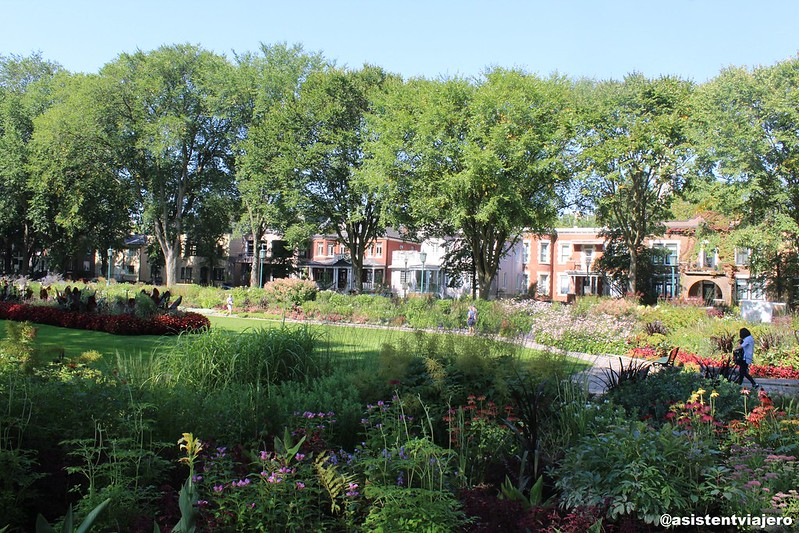 Quebec Jardin Jeanne d'Arc