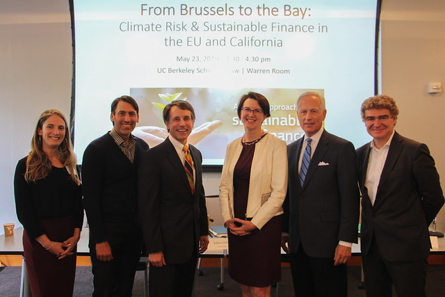 From Brussels to the Bay: Climate Risk and Sustainable Finance in the EU and California