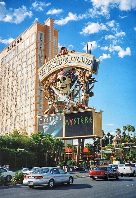 Las Vegas  Nevada  - Treasure Island Hotel and Casino = Las Vegas Strip